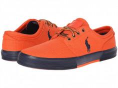 Pantofi barbati Polo Ralph Lauren Faxon Low, Orange | Produs 100% original | Livrare cca 10 zile lucratoare | Aducem pe comanda orice produs din SUA, Ralph Lauren