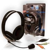 Casti Cu Microfon Azusa Sn-640