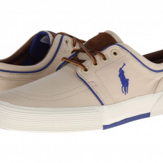 Tenisi barbati Polo Ralph Lauren Faxon Low Khaki | Produs original | Se aduce din SUA | Livrare in cca 10 zile lucratoare de la data comenzii