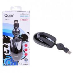 Mouse Optic Quer Model Traveler (Usb), Optica