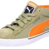 Adidasi Puma Mid City originali - tenisi dama - adidasi originali - piele naturala - in cutie - 37 - Adidasi dama Puma, Culoare: Gri