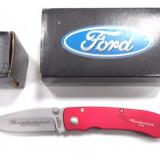 BRICEAG FORD THUNDERBIRD, MADE IN U.S.A, EDITIE ANIVERSARA, 50 TH, DEOSEBIT, ABSOLUT NOU!! - Briceag/Cutit vanatoare Fox Cutlery