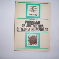 I. Cucurezeanu - Probleme de aritmetica si teoria numerelor,P12,RF5/4, Alta editura