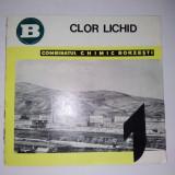 Pliant - Combinatul Chimic Borzesti - CLOR LICHID, anii '70