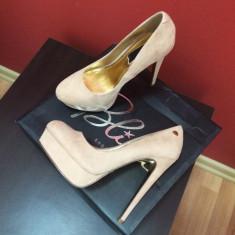 PANTOFI DAMA DE CALITATE - Pantof dama, Culoare: Nude, Marime: 36