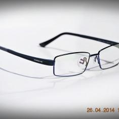 Rame de ochelari Porsche Design P9075 col4, Barbati, Dreptunghiulare, Metal, Rama intreaga, Clasic