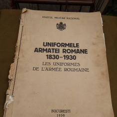 Uniformele Armatei Romane 1830 - 1930, Muzeul Militar National