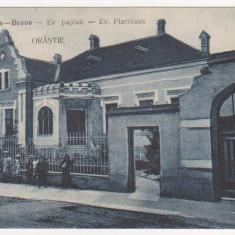 Orastie, Vedere, animatie, necirculata, 1916