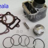 Kit Cilindru / Set motor  ATV / Moto Scuter TITAN2000 / KS / ES125  - 56.5mm
