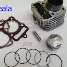 Kit Cilindru / Set motor + Piston + Segmenti ATV / Moto Scuter TITAN2000 / KS / ES125 - Set cilindri Moto