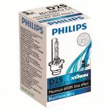 Bec  D2S XENON Blue Vision Ultra Philips  Tensiune 85V 35W 66240 4300K, 6000K