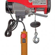 121102-Macara electrica 500 kg, 1020 W, telecomanda pe fir Raider Power Tools