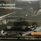 Lanterna KC-31 CREE XML T6 | 1000W | 5 Mode Zoom | Ultra Bright LED | Flashlight | Toc | + 2 Acumulatori 18650 3.7V | NOUA