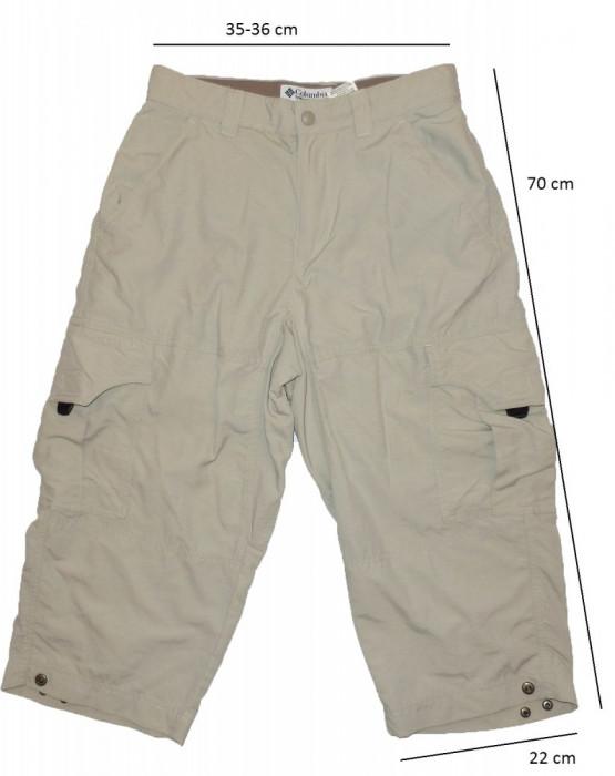 Pantaloni treisfert COLUMBIA GRT tehnologie OmniDry (dama S spre XS) cod-258938 foto mare