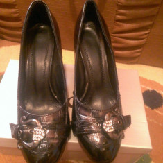 Pantofi casual cu toc,model deosebit,comozi