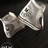 Sneakers white marimea 36 - Tenisi dama, Culoare: Alb, Alb