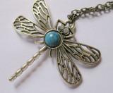 Pandantiv Game of Thrones Dragonfly Necklace Calitate Garantata