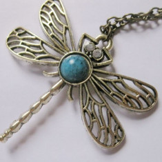 Pandantiv Game of Thrones Dragonfly Necklace Calitate Garantata - Pandantiv inox