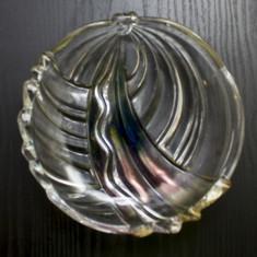 Fructiera veche cristal, stil ART DECO