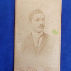FOTOGRAFIE VECHE PE SUPORT DE CARTON * FOTO EUGENE PIROU - PARIS - 1893