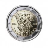 ITALIA 2 euro comemorativa 2014-Carabinieri, UNC, Europa, Cupru-Nichel