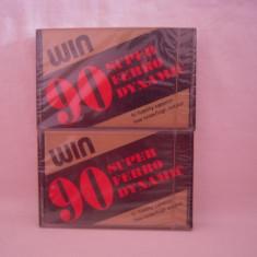Vand 2 casete audio Win,sigilate-made in Germany,originale,raritate!