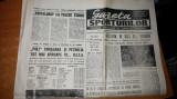 ziarul gazeta sporturilor 31 mai 1990-tricolorii la capionatul mondial