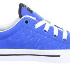 40 2/3_Adidasi originali Adidas_tenisi barbati_din panza_albastru_in cutie, Textil