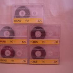 Vand   caseta audio Raks DX-60,originala,raritate!