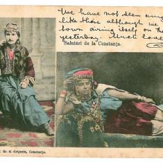 737 - Dobrogea, CONSTANTA, Turkish ethnic - old postcard - used - 1903 - Carte Postala Dobrogea pana la 1904, Circulata, Printata