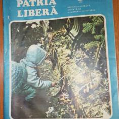 Revista patria libera anul 1, nr.1 1990-articole si fotografii de la revolutie - Revista culturale