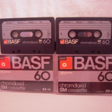 Vand  caseta audio BASF-Chromdioxid  60,originale,raritate!