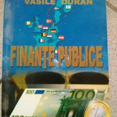 Finante publice, Vasile Duran, Editura Eurostampa, Timisoara, 2006 - Carte despre fiscalitate