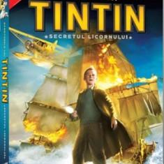 Aventurile lui TinTin: Secretul Licornului de Steven Spielberg si Peter Jackson - Film actiune sony pictures, DVD, Romana