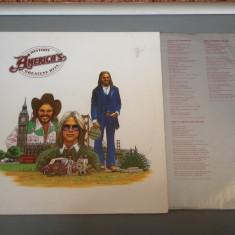 AMERICA - GREATEST HITS - HISTORY (1975) - WARNER/RFG - DISC VINIL/PICK-UP/VINYL - Muzica Rock