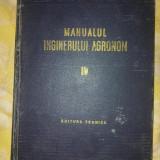 Manualul inginerului agronom vol 4