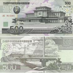 COREEA DE NORD- 500 WON 2007-P 44- UNC!!
