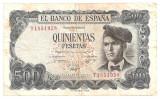 SPANIA 500 PESETAS 1971 U