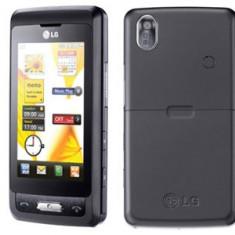 Telefon LG kp502, Negru, 16GB, Neblocat, Fara procesor, 1 GB