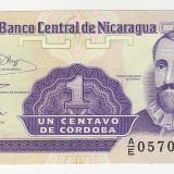 UNC-1 CENTAVO NICARAGUA