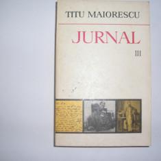 Jurnal Vol.III (18 Iulie 1860-10 IULIE 1962) - Titu Maiorescu, rf5/1 - Biografie