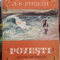 A.S. Puskin - Povesti - Carte de povesti