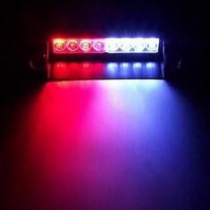 Lumini avertizare LED stroboscop lumina masina politie salvare pompieri +CADOU!
