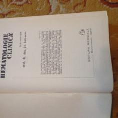 Hematologie clinica - sub redactia St. Berceanu