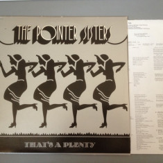 THE POINTER SISTERS - THAT'S A PLENTY (1974/ MCA REC) - DISC VINIL/VINYL - USA - Muzica Rock sony music