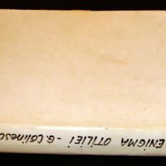 ENIGMA OTILIEI - George Calinescu, Alta editura, 1967