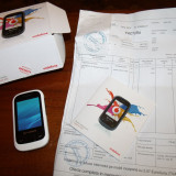 Telefon mobil Vodafone 455 Bluetooth QD ID B017651, Alb, Nu se aplica, Fara procesor