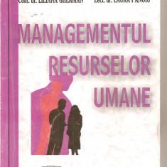 (C4909) MANAGEMENTUL RESURSELOR UMANE DE LILIANA GHERMAN SI LAURA PANOIU, EDITURA