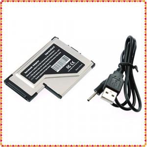 Expresscard 54mm la USB 3.0x2 Port Adapter