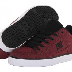 DC Pure TX SE - Adidasi barbati Dc Shoes, Marime: 38, Culoare: Rosu
